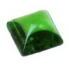 3 mm Green Square Sugar Loaf Chrome Diopside in AAA Grade
