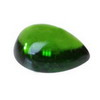 8x5 mm Green Pear  Chrome Diopside in AAA Grade