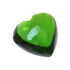 6 mm Green Heart Chrome Diopside in AAA Grade