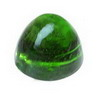 6 mm Green Bullet Chrome Diopside in AAA Grade