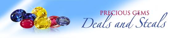 Precious gemstones geals and sales