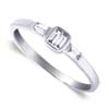 0.26 ct VS Diamond Ring in 18k White Gold