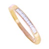 0.15 ct VS Diamond Band in 18k Yellow Gold