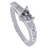 0.26ct VS Diamond Semi Mounting 18K White Gold