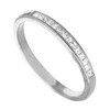 0.29 ct VS Diamond Band in 18k White Gold