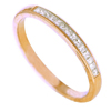 0.29 ct VS Diamond Band in 18k Yellow Gold