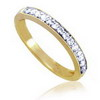 0.14 ct VS Diamond Band in 18k Yellow Gold
