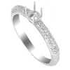 0.26 ct VS Diamond Semi Mounting 18K White Gold