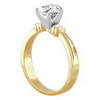 0.50 Carat Diamond Engagement Ring in 18k Gold