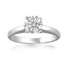 0.50 Carat SI1/SI2 Diamond Engagement Ring in 18k Gold