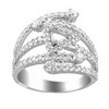 1.2ct VS Diamond Semi Mounting 18K White Gold
