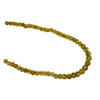 8-11 mm Carved Citrine Bead Strand 16 Inch