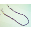 Amethyst Carved Bead Strand 16 Inch