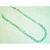 Blue Topaz Carved Bead Strand 16 Inch