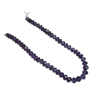 11 mm Faceted Amethyst Bead Strand 14 Inch