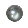 9 mm Round Grey Cultured Pearl in AA grade Full Drilled