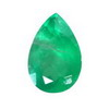 9x6 mm Pear Emerald in A Grade