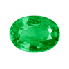 1.30 Carat Oval Shape Emerald in AAA Grade