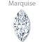 Search for marquise diamonds