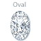 Search for oval diamonds