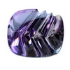 23x20 mm Fancy Laser Cut Brazilian Amethyst in Superfine Grade
