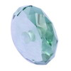 10 mm Greenish Blue Round Wheel Aquamarine in AAA grade