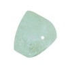 15 mm Bluish Grey Trillion Aquamarine in AAA grade