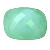 39 ct. English Green Long Cushion Chalcedony in AAA grade