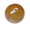 20 mm Honey Round Chalcedony in AAA grade