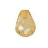 7x5 mm Champagne Briolette Drop Topaz in AAA Grade