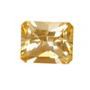 8x6 mm Champagne Octagon Topaz in AAA Grade