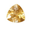 8x8 mm Champagne Trillion Topaz in AAA Grade