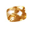 10x8 mm Checker Board Cushion Champagne Topaz AAA Grade