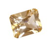 7x5 mm Champagne Octagon Topaz in AAA Grade