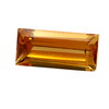 10x6 mm Long octagon Golden Citrine in AAA Grade