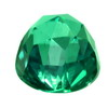 8 mm Evergreen Bullet Topaz in AAA Grade