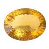 28 Carats Oval shape Golden Yellow Fluorite