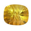 25 Carats Cushion Rare Large Golden Fluorite