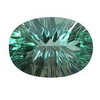 16x12mm Oval Neon Green Fluorite
