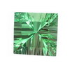 20x20mm square  Neon Green Fluorite