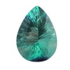 16x12mm pear shape  Neon Green Fluorite
