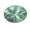 25x18 mm Oval shape Irish Green Fluorite