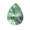 16x12mm Pear shape Irish Green Fluorite
