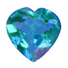 4x4 mm London Blue (Kashmir Blue) Heart Shape Topaz in AAA Grade