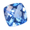 9x9 mm New Blue Cushion Topaz in AAA Grade