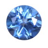 2.5 mm New Blue Round Topaz in AAA Grade
