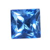 7 mm New Blue Square Topaz in AAA Grade