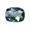 11x9 mm Cushion Rainbow Mystic Topaz in AAA Grade