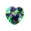 9 mm Rainbow Heart Topaz in AAA Grade