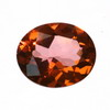 7x5 mm Salmon Oval Topaz in AAA Grade